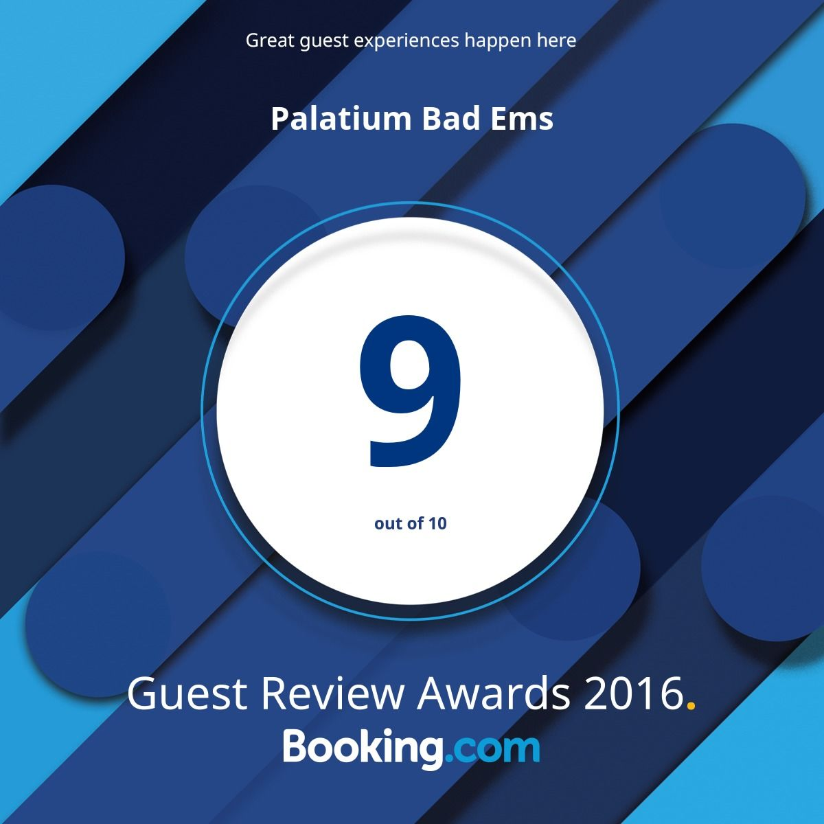 Award booking.com 2016